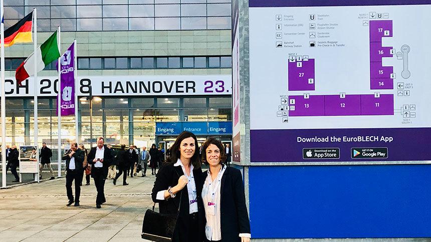 Nous nous sommes rendus à Euroblech, Salon leader mondial de l'industrie de transformation de tôle