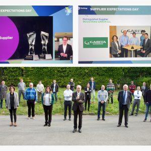 """YanFeng concede a Garita Automotive el premio """"Distinguished Supplier 2020"""""""